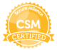Certified Scrum Master (CSM)