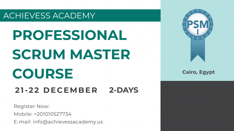 Professional Scrum Master (PSM) Certification Preparation